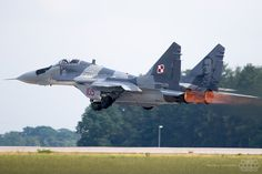 MiG-29 Polish Air Force Solo Display