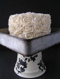 Happy New Year & A Cake Rosette Cake