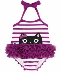 gymboree trajes de baño para niñas