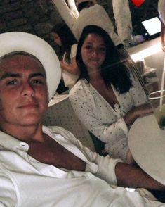 Paulo and Oriana 💕 Camila Gallardo, Perfect Couple, Relationships Love, My King, Football Players, Animals And Pets, Panama Hat, Crushes, Sport