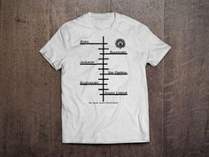 Short Sleeve T-Shirt - Aussie Beard Ruler - White
