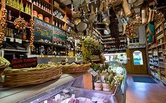 Valvona & Crolla Italian deli Edinburgh