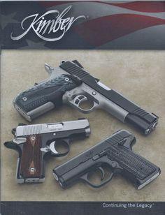 Kimber hand guns