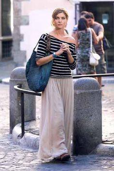Vittoria Puccini ritorna sul set. Più bella che mai… | Gossip