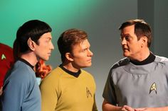 Official Star Trek Continues with Larry Nemecek as Dr. Star Trek Tv, Star Wars, Star Trek Continues, Live Long, All Star, Tv Shows, Sci Fi, Guys, Stars
