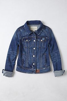 Pilcro Avie Denim Jacket #anthropologie