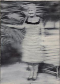 Gerhard Richter (Germany / Frau Niepenberg 1965 Oil on canvas 140 x 100 cm Gerhard Richter Painting, Art For Art Sake, Figure Painting, Portraiture, New European Painting, Art, Gerhard Richter, Contemporary Art, Portrait