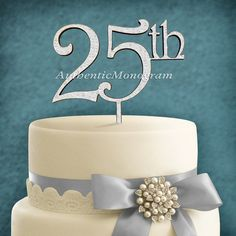 Hey, I found this really awesome Etsy listing at https://www.etsy.com/listing/203423315/cake-topper-anniversary-inch25thinch