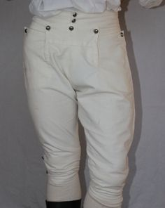 18th Century Breeches 1770s by ThePeriodTailor on Etsy, $225.00