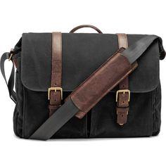 ONA Brixton Camera Messenger Bag | Black