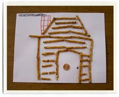 "abraham lincoln penny craft | This is Abraham Lincoln's house. He wears a ... | ""So teach, your ch ..."