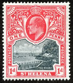 1890 Scott 38 on pale brown Quick History St Helena (named after Saint Helena of Constantinople by the Portuguese in is loc. Colonial, Crown Colony, St Helena, Vintage Stamps, King George, Stamp Collecting, Printmaking, Empire, African