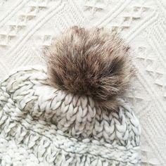 069c1fadf37 faux fur fluffy pom pom beanie for women crochet beanies mujer hats ...