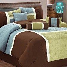King 11 Pieces Comforter Set-AH-C-617-COF-K