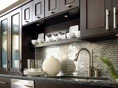 stainless steel tile backsplash pictures -