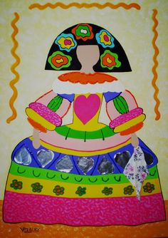 meninas - Buscar con Google Infanta Margarita, Crafts For Kids, Arts And Crafts, Tole Painting, Various Artists, Elementary Art, Diy Projects To Try, Art School, American Art