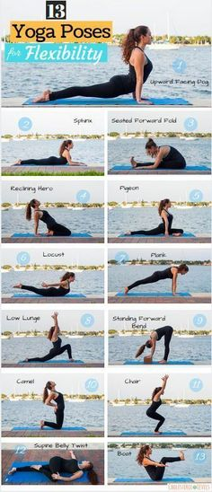 Yoga Poses for Flexibility | Posted By: NewHowToLoseBellyFat.com