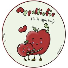Appelliefie (Gooseberry) - Cute Illustrations of Directly Translated Afrikaans Words by RobynO (Me) BoredPanda Illustration Art Drawing, Art Drawings, Illustrations, Illustrated Words, Face Sketch, Living At Home, Afrikaans, Bored Panda, Illustration