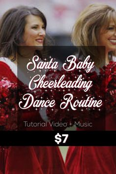 Learn this classic holiday cheerleading dance to perform with your team, or in your living room to spread the holiday cheer! Learn this cheer routine, and all the cheerleading moves in this step-by-step tutorial video PLUS the music mix is included so you can go full out! Instant access