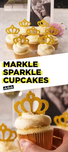 Celebrate The Royal Wedding With Markle Sparkle Cupcakes Delish