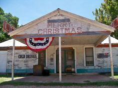 Merry Christmas Bar, Round Top Texas