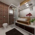 belos projetos de banheiros