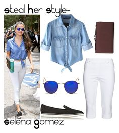 """Steal Her Style- Selena Gomez"" by salma1234 ❤ liked on Polyvore"