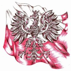 Poland designs | Tattoo Designs, Sketches, Photoshop on Behance Eagle Tattoo Girl, Polish Eagle Tattoo, Eagle Tattoos, Wolf Tattoos, Life Tattoos, Chest Piece Tattoos, Chest Tattoo, Polish Symbols, Chicano