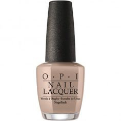 OPI Fiji 2017 Coconuts Over OPI. A subtle & toasty taupe. Love it❤️
