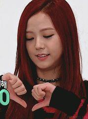 blackpink Jisoo heart gif