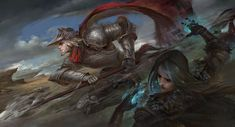 ArtStation - The battle of oath, Scott Shi