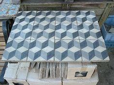 Old tiles.  Incredible dept.