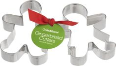 2-Piece Gingerbread Cookie Cutter Set  | Crate and Barrel now 1.95!