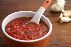 Fire-Roasted Salsa from our newsletter -- This homemade version will ruin you for jarred salsa!