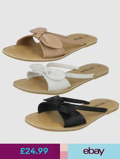 Ladies Leather Collection Slip On Mules/ Summer Sandals/ Flip Flops : Sandals Outfit, Women's Shoes Sandals, Leather Slippers, Leather Sandals, Kid Shoes, Girls Shoes, Fashion Bags, Fashion Shoes, Womens Slippers
