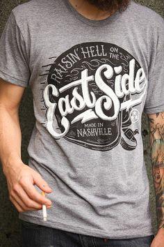 3841aa83e890c East Side Tshirt by strawcastle on Etsy  MensT-shirts