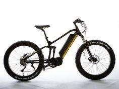 All Terrain Ultra Electric Mountain Bike, Full Suspension, Fat Bike, Fat Man, Bottom Bracket, Most Powerful, Bike Design, Rebounding, Mountain Biking