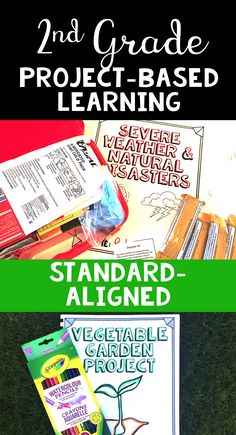 2nd Grade Project Based Learning Activities - Incorporate science, math, reading, and writing standards with PBL. Each real-life scenario will engage your students in meaningful learning!