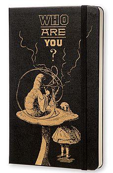 Moleskine Limited Edition Large Alice in Wonderland Plain Notebook