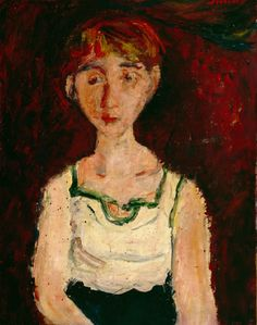 Little Girl by Chaim Soutine