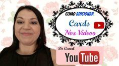 Como Adicionar CARDS Nos Vídeos do YOUTUBE - Aula 9 | Teresa Tavares