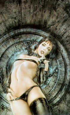 Luis Royo's Dream In The Year 2000 and 2000 Dreams
