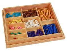 Colored Bead Chains & Squares,Montessori Materials - Buy Montessori Toys,Mathematics,Teaching Materials Product on Alibaba.com