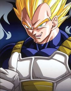Super Sayian Vegeta