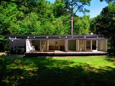 Guest home for Niels Bohr's summer house in Tisvilde, Denmark. Designed in 1957 by Vilhelm Wohler.