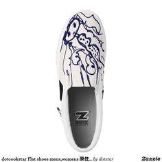 dotcookstar Flat shoes mens,womens 原住民シューズ Printed Shoes