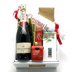 Moet Christmas Log Gift Hamper | $205.00