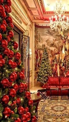 seasonsofwinterberry: Christmas, Hotel George V, Paris..wish one day, we go back as a family to Paris and Provence..maybe! I have other places in my mind first...It is gorgeous here. Bella Donna