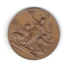 1884-Rouen-Exposition-Nationale-et-Regionale-Bronze-Medal