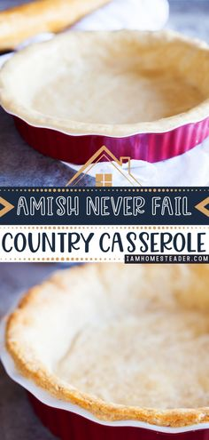 When all else fails, trust that this Amish Pie Crust won't. This baking recipe is the perfect crust for anything! From apple pies to pot pies, it will be the best holding vessel for your yummy dessert recipes! Its delicate, light, flaky and addicting to eat. Save this pin!